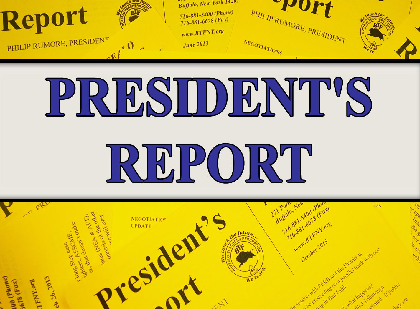 president frontpage